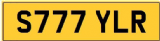 TYLER  S Private Cherished Registration Number Plate ALL FEES INCLUDED
